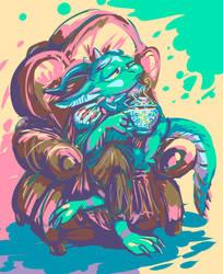 twitter sketch 35: svalbirdd
