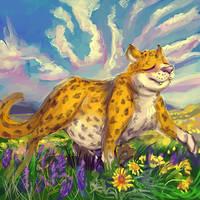twitter ''''sketch''''' 80, Siyahama Leopard
