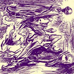 twitter sketch 2-04: Dookingplaza