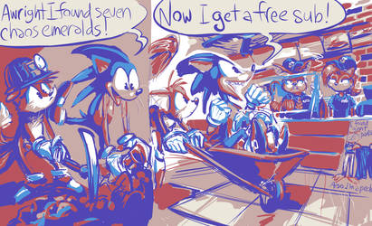 Gotta Go Fast Food