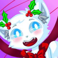 Christmas Godcat Icon by Hanna-Diana-Magic