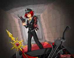 Enter the Fortress - EBF Anniversary collab by Hanna-Diana-Magic