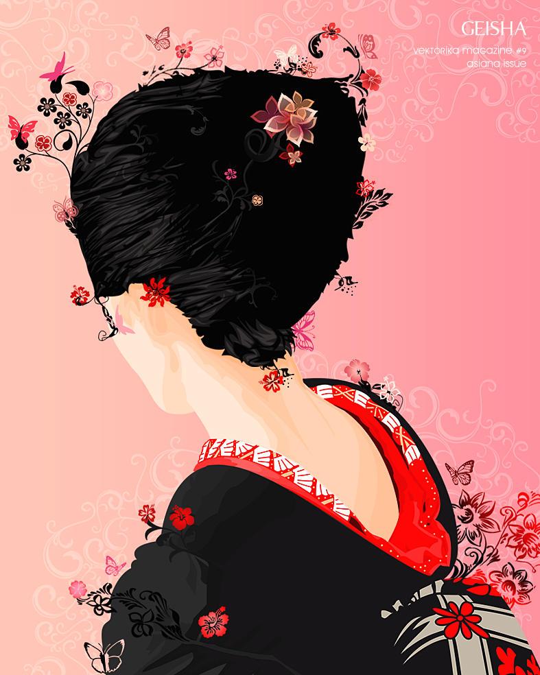 geisha by Tschakalaka