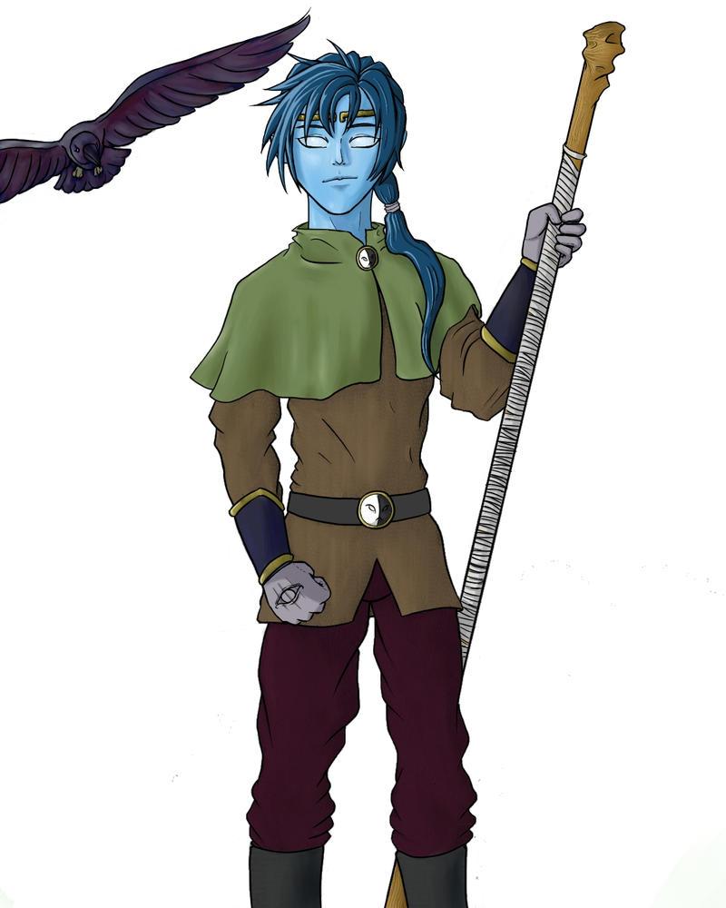 Sleylock the Sorcerer and Blinkin by TriforceWarrior