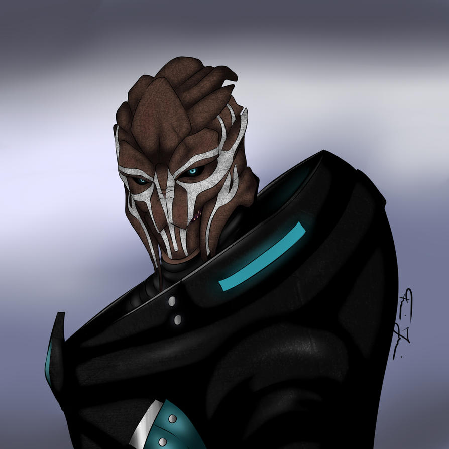 Caerius Ennirian - Mass Effect OC by furijuci