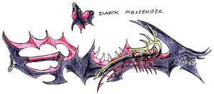 Dark Messenger Keyblade by Naorui