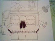 science skull by Midnight408