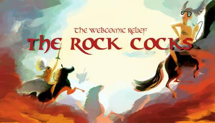 Webcomic Relief - The Rock Cocks