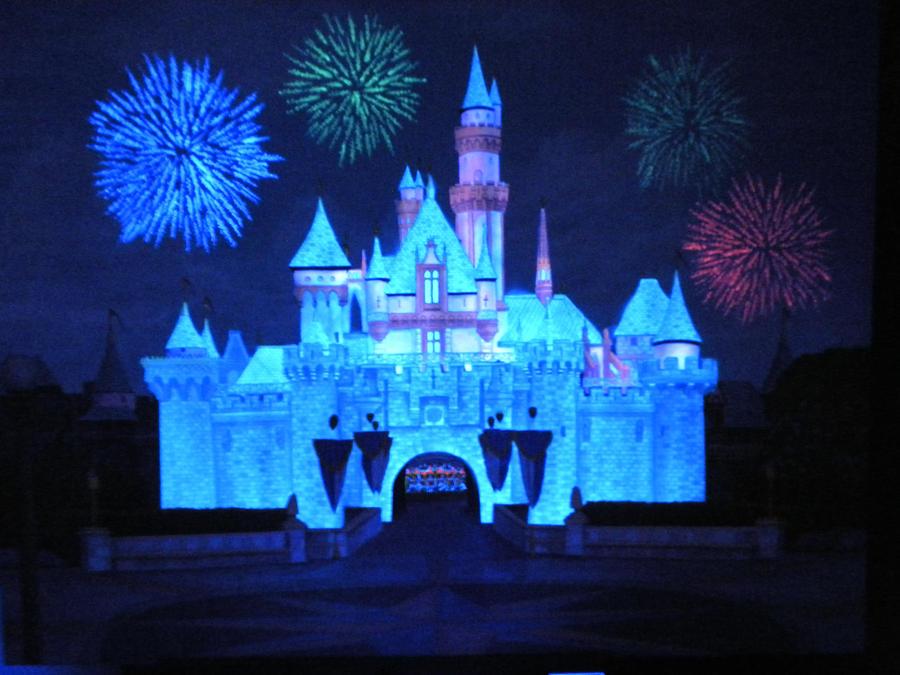 Disneyland Castle At Night Disneyland Castle Night by