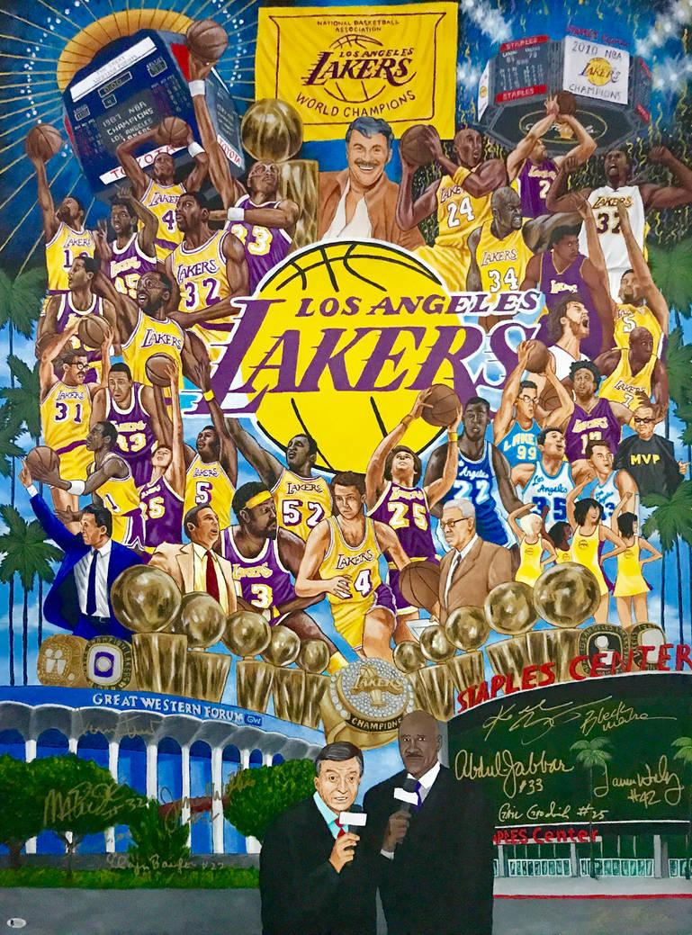 11c682ef9 Los Angeles Lakers History by whatevah32 on DeviantArt