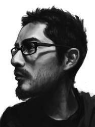 Self Portrait- Week 2 by LW-Sketch