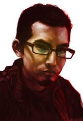 Self Portrait week 4 by LW-Sketch