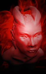 Demon girl by LW-Sketch