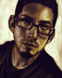 Self portrait by LW-Sketch