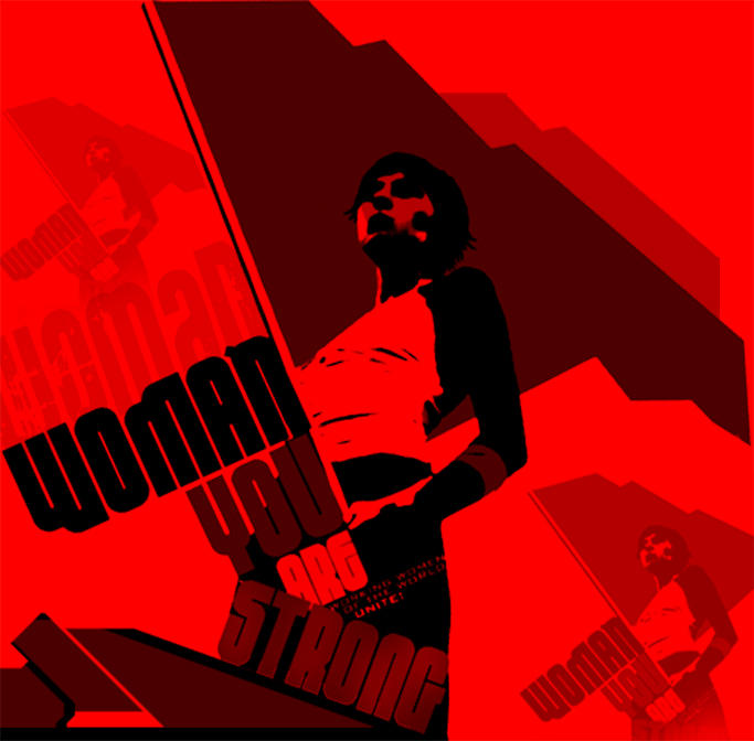 workers revolution-woman by BlueEmpire