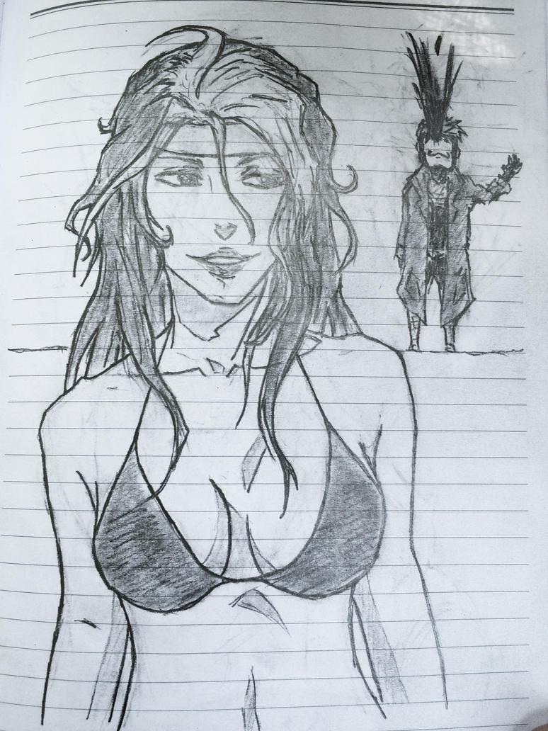 Rogue and Gambit by ShiroHebi333