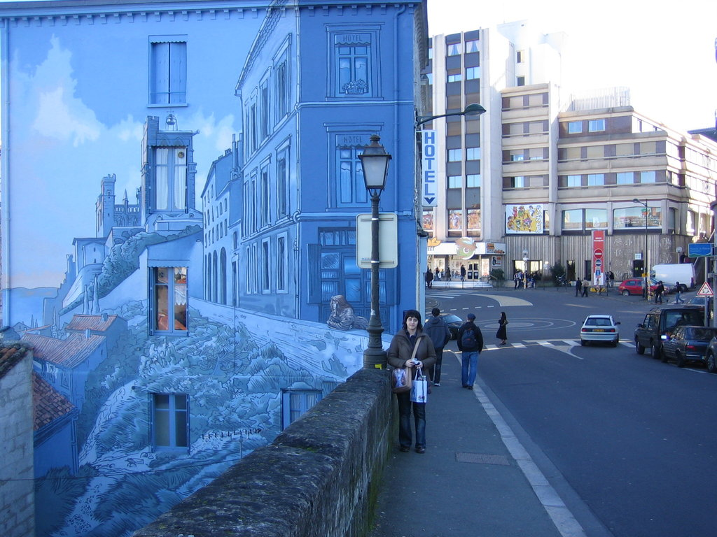 Wall Paint by NachoMon