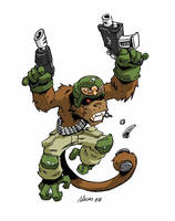 Imperial Monkey by NachoMon