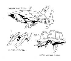 Starships sketches by NachoMon