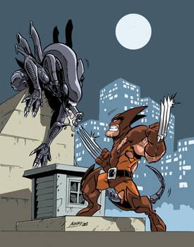 Clash of the Predators