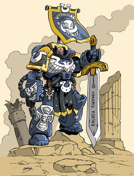 Captain of Ultramar.