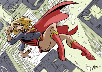 Supergirl  on Color by NachoMon