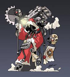 Adeptus Mechanicus by NachoMon