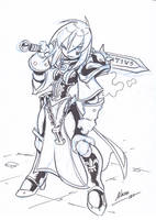 Sister Sketch by NachoMon