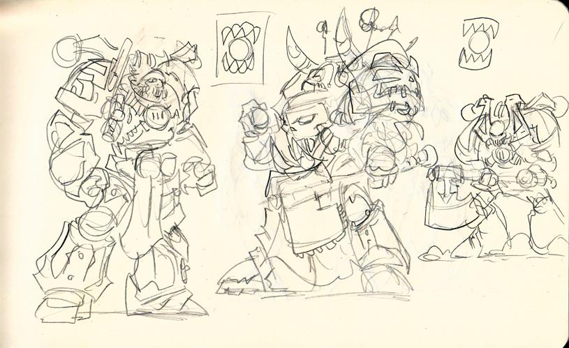 World Eaters sketch by NachoMon