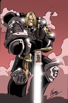 Brother Olavsen of the Deathwatch