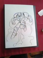 Iron Man sketch by NachoMon