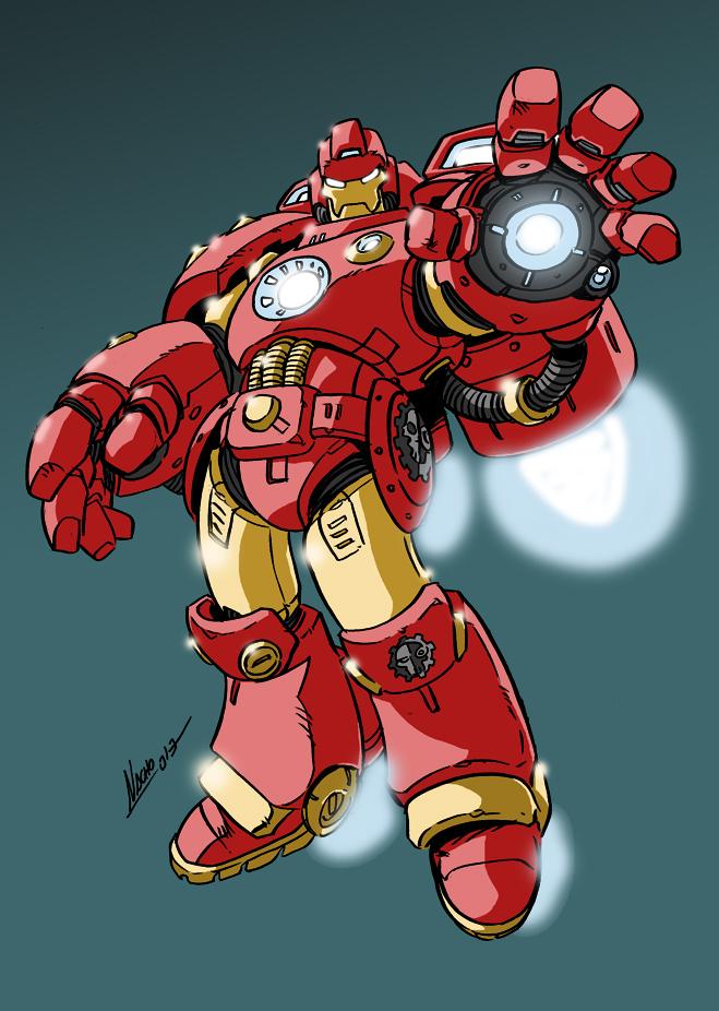 Iron Brother Stark by NachoMon