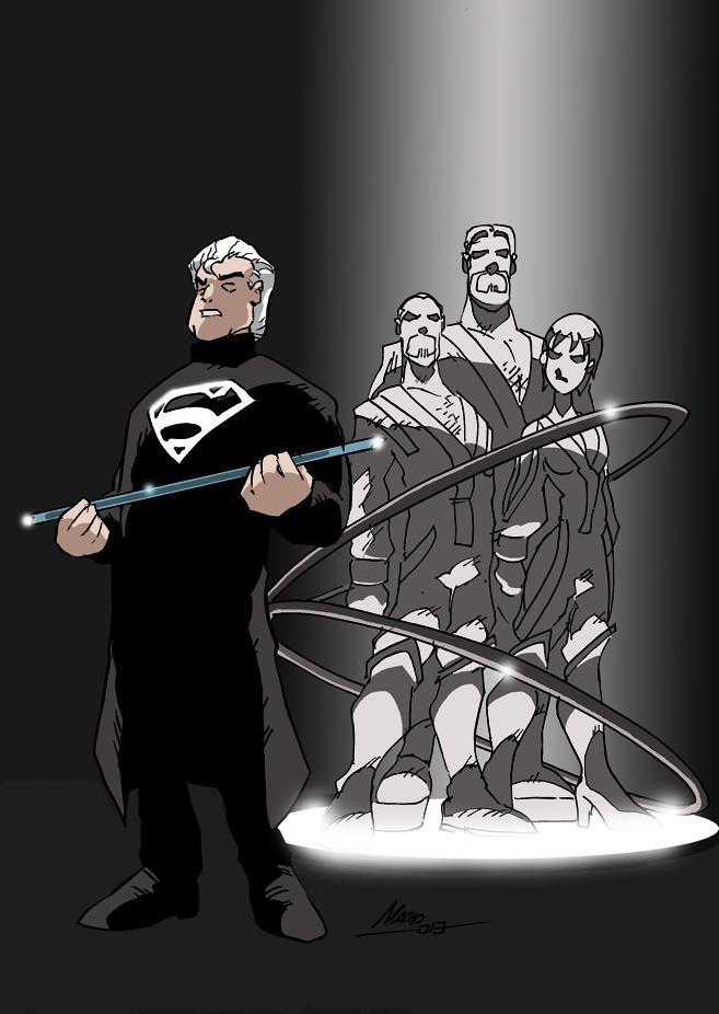 Last Judgement on Krypton by NachoMon