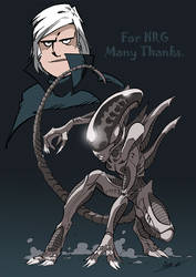 Homage to Giger
