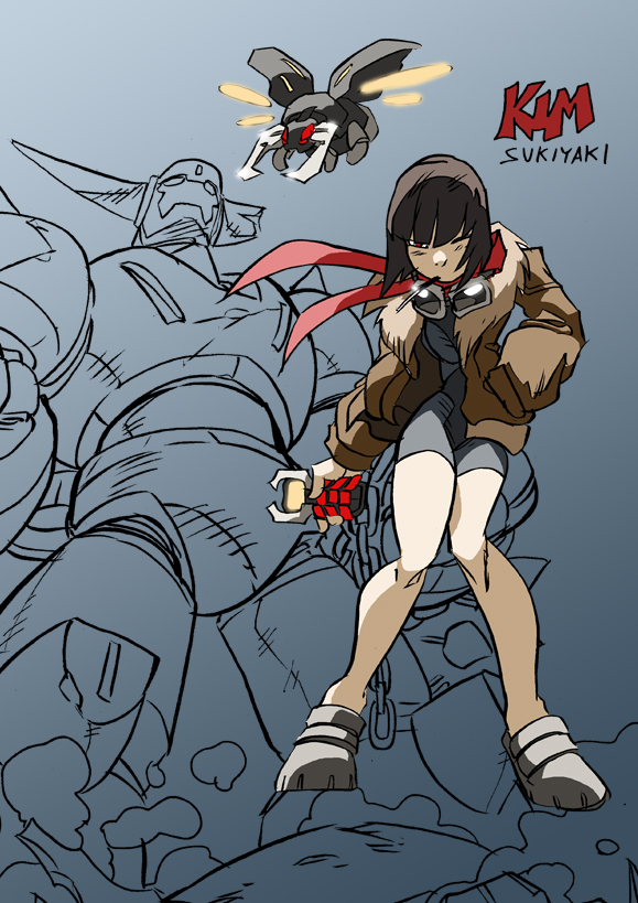 Dynabaron Pilot Kim by NachoMon