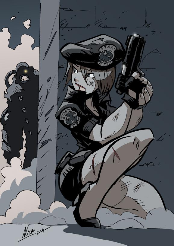 Jill Last Escape by NachoMon
