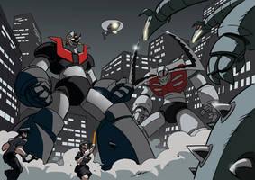 Mazinger: Super Robot Alert by NachoMon