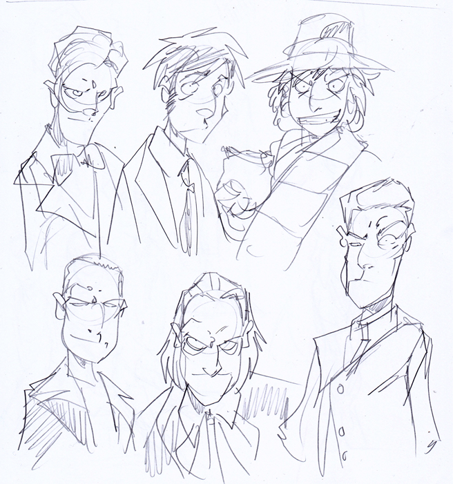 Sketching Doctors by NachoMon