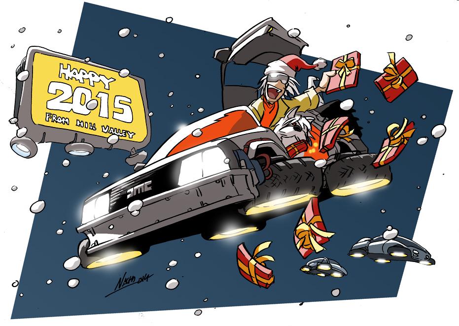 Happy 2015! by NachoMon