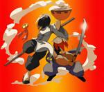 Kung Fu, Ninjas and Noodles
