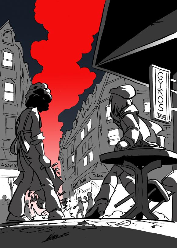 Darkness over Paris by NachoMon