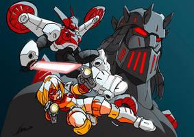 More Micronauts by NachoMon