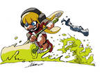 The Crazy Cute Squid Girl Attack!