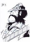 Inktober3: Lemmy