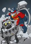 Supersonic Man Flies Again