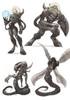 Alien Ancestor V by NachoMon