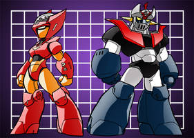 Micro Styled Mazinger Bots