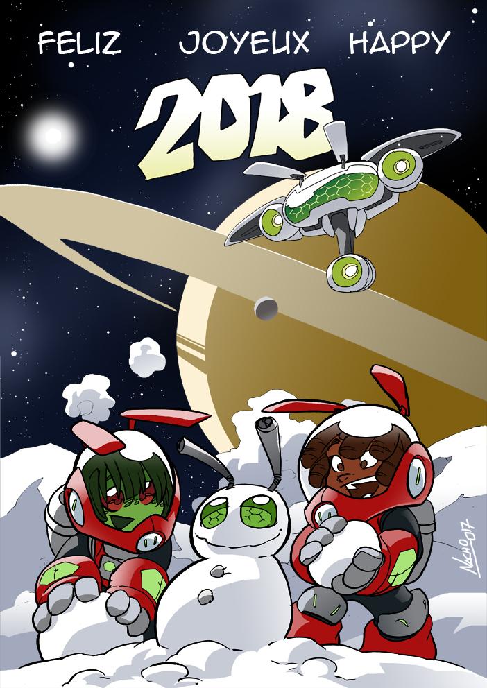 Happy 2018 by NachoMon
