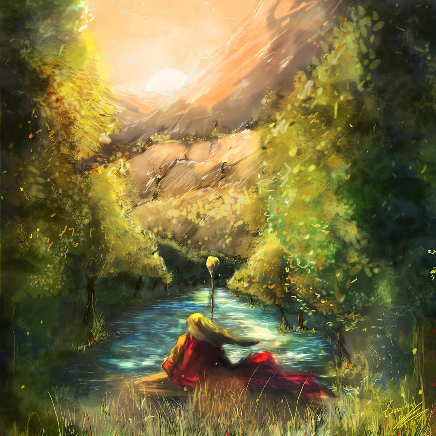 Meditation by Zaraskar on DeviantArt