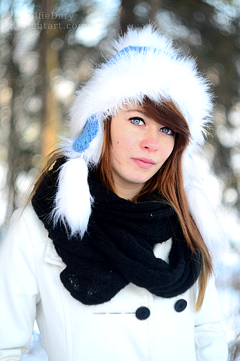 Winter girl by PolfieDary